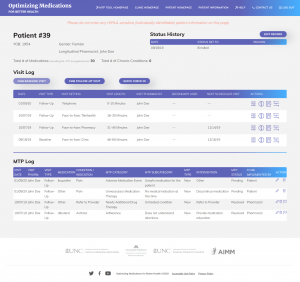 patient-homepage-mtp-documentation-tool